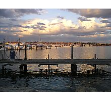 Hillarys Boat Harbour at Sunset Photographic Print