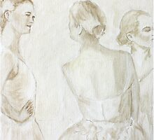 3 Ballerinas by Simon Milne