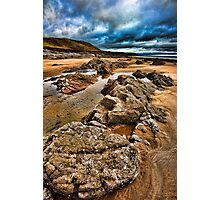 Port Eynon Bay, Gower, Wales Photographic Print