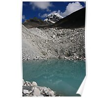 Middle of the Glacier Poster