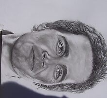 JIMMY johnson nascar driver #2 pencil only by perfectpencil