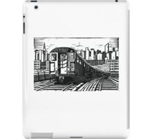 New York Subway Train iPad Case/Skin