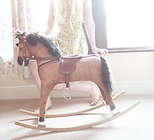rocking horse dreams. Photographic Print