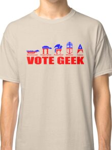 VOTE GEEK Classic T-Shirt
