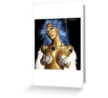 the elements of femininity Greeting Card
