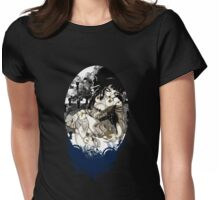 Broken China Doll Womens Fitted T-Shirt