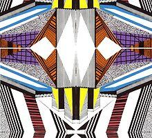 Fusion #1, 2015  by DerekSimDesigns