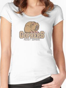Pocket Gophers Women's Fitted Scoop T-Shirt