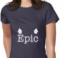 Epic Breasts Reverse Womens Fitted T-Shirt