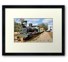 THE TRAIN - LOCOMOTIVE CLARA Framed Print