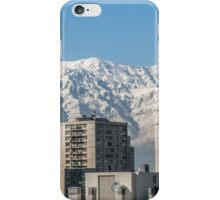 Andes at the top of the buildings iPhone Case/Skin