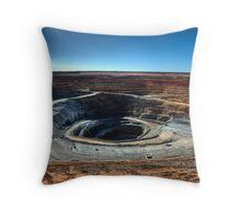 Lake Cowal Gold Mine Throw Pillow