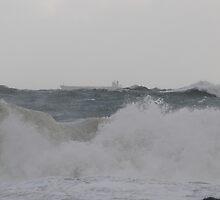 Bunbury WA  storm ship 19-6-09 by AndrewBentley