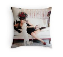 Tribute to Audrey 1 Throw Pillow