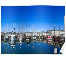 San Francisco Fisherman's Wharf Marine Poster