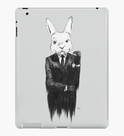 White Rabbit II iPad Case/Skin