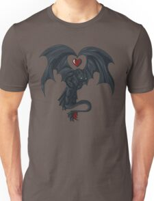 Toothless love Unisex T-Shirt