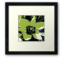 Blooming Green Framed Print