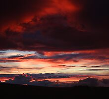 A Storm at Sunset by Andy Stuart