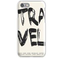 Travel Europe  iPhone Case/Skin