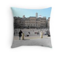 Siena, Italy Throw Pillow
