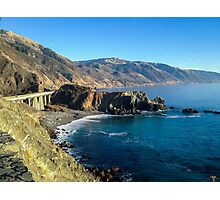 View at Highway 1 in California Photographic Print
