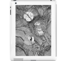 Arara Bird in Nankin ink iPad Case/Skin
