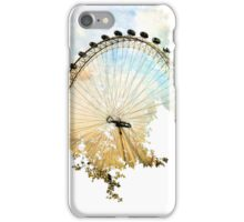 Abstract London Eye iPhone Case/Skin