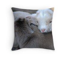 New Born Love Throw Pillow