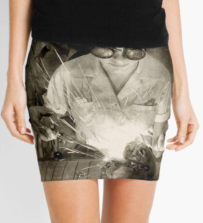 Open Heart Mini Skirt