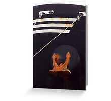 Bow and Anchor Greeting Card