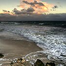 Evening on a Winters Beach... by GerryMac