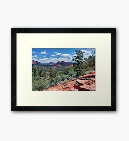 A Sedona Hike Framed Print