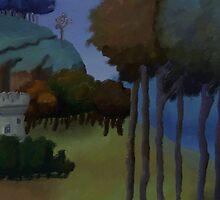 Medieval Landscape by EternaLetizia
