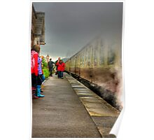 On The Platform  - Levisham Station Poster