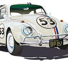 Herbie The Beetle by Tiltedgiraffes