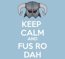 Keep Fus Ro Dah Kids Tee