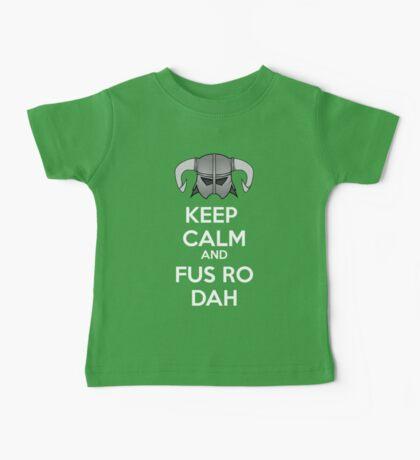 Keep Fus Ro Dah Baby Tee