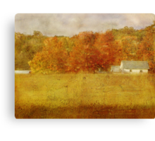 Farmstead in Evening Light Canvas Print