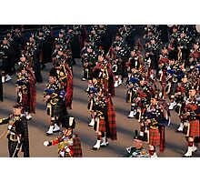 Massed Pipes & Drums Photographic Print