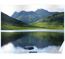 The Lake District: Reflecting on The Langdales Poster