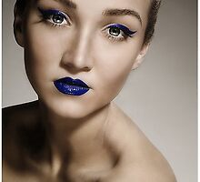Beautiful Blue Lips by californiagirl