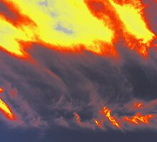 Clouds On Fire by OneRudeDawg