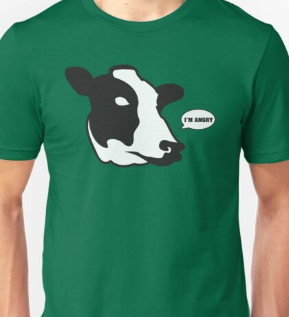 Mad Cow Unisex T-Shirt