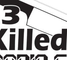 mp3 Killed the Radio Star Sticker