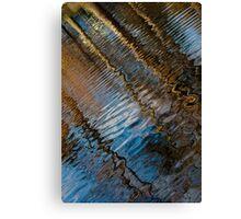 Into Chaos Blue 2 Canvas Print