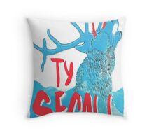 Ty Segall (Deer) Throw Pillow
