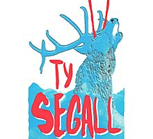 Ty Segall (Deer) Photographic Print