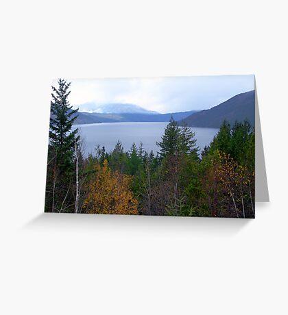Near Salmon Arm Greeting Card