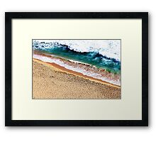 Sandy Shore Framed Print